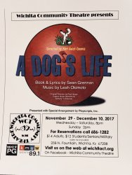 Work Day for Production of A Dog's Life: A Musical