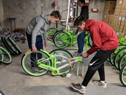 Green Apple Bike Mechanic Volunteer