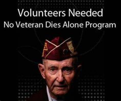 No Veteran Dies Alone Volunteer Coordinator