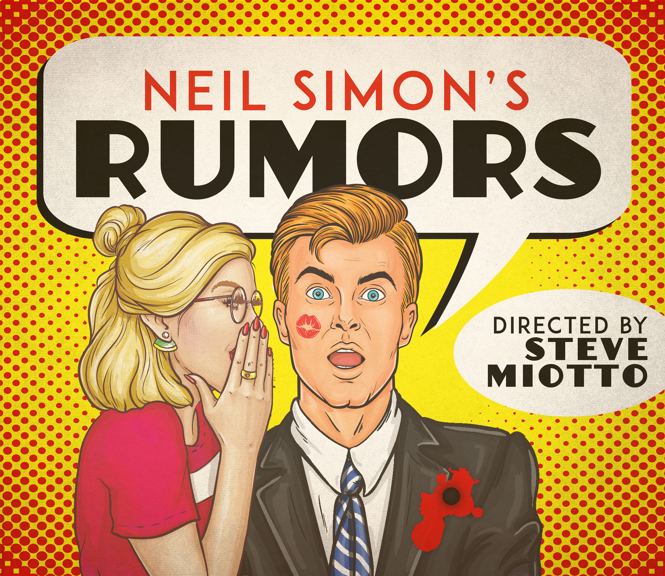 Work Day for RUMORS by Neil Simon