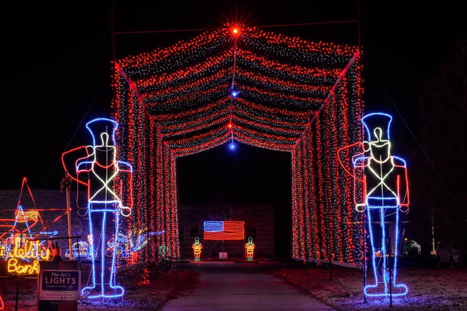 The Arc's Lights: Testing light displays